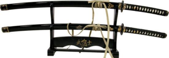 KD Elite Hattori Hanzo Collection - Bill and Bride's Katana Set